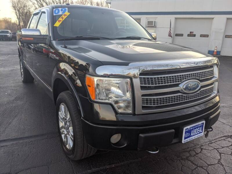 2009 Ford F-150 for sale at GREAT DEALS ON WHEELS in Michigan City IN