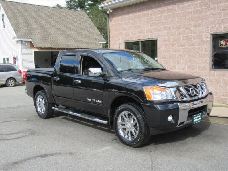 2015 Nissan Titan for sale at Advantage Automobile Investments, Inc in Littleton MA