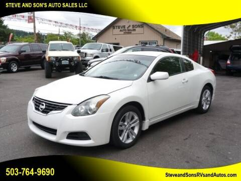 2012 Nissan Altima for sale at Steve & Sons Auto Sales in Happy Valley OR