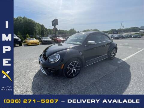 2018 Volkswagen Beetle for sale at Impex Auto Sales in Greensboro NC
