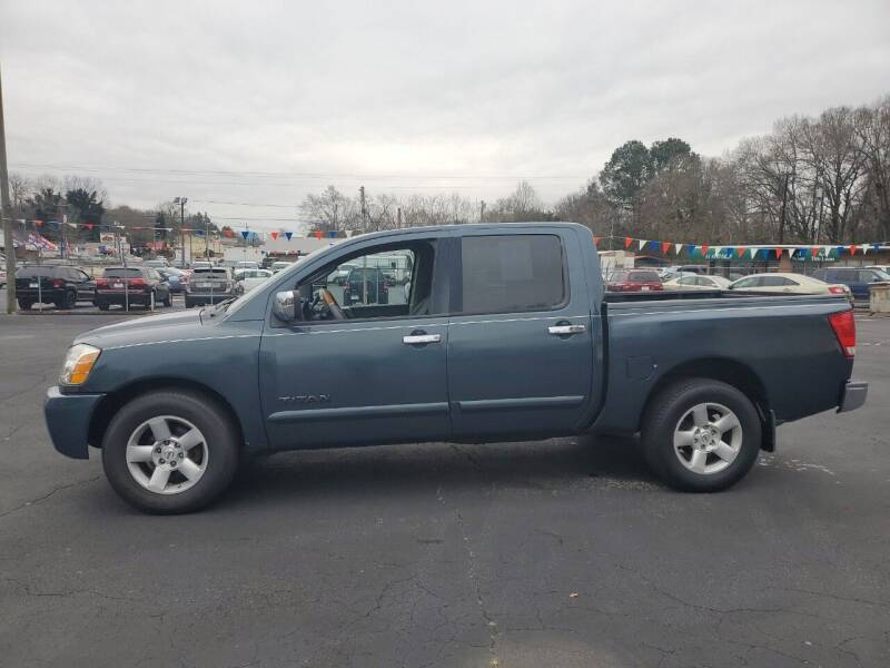 2004 Nissan Titan for sale at A-1 Auto Sales in Anderson SC