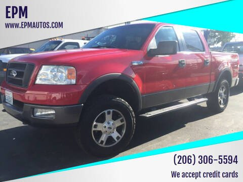 2005 Ford F-150 for sale at EPM in Auburn WA