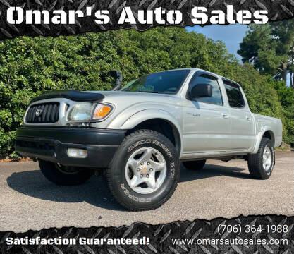 2004 Toyota Tacoma for sale at Omar's Auto Sales in Martinez GA