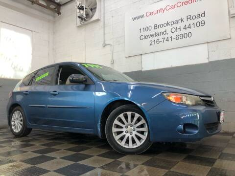 2010 Subaru Impreza for sale at County Car Credit in Cleveland OH