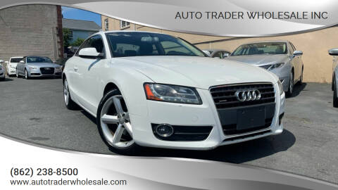 2010 Audi A5 for sale at Auto Trader Wholesale Inc in Saddle Brook NJ