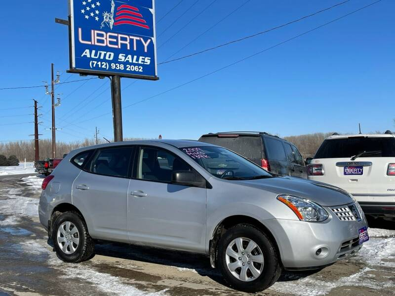 2009 Nissan Rogue for sale at Liberty Auto Sales in Merrill IA