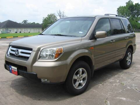 2008 Honda Pilot for sale at JAYCEE IMPORTS in Houston TX