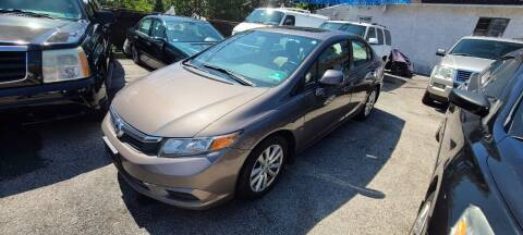 2012 Honda Civic for sale at Rockland Auto Sales in Philadelphia PA