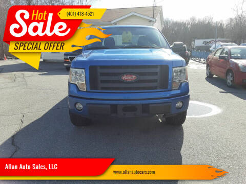 2009 Ford F-150 for sale at Allan Auto Sales, LLC in Fall River MA
