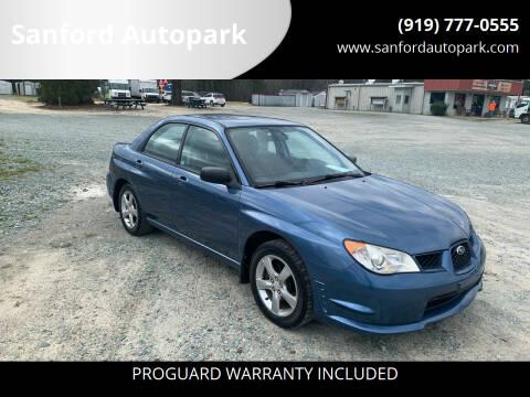 2007 Subaru Impreza for sale at Sanford Autopark in Sanford NC