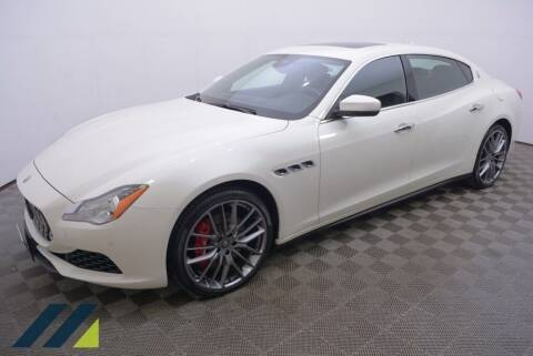 2017 Maserati Quattroporte for sale at SILVER ARROW AUTO SALES CORPORATION in Newark NJ