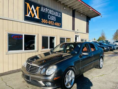 2008 Mercedes-Benz E-Class for sale at M & A Affordable Cars in Vancouver WA