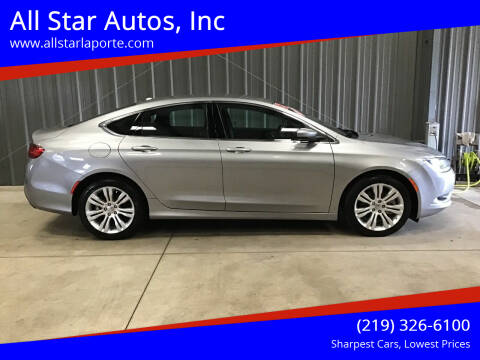 2015 Chrysler 200 for sale at All Star Autos, Inc in La Porte IN
