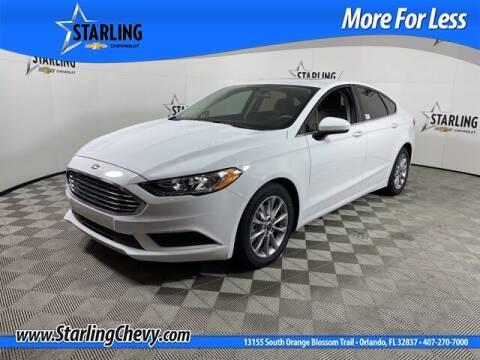 2017 Ford Fusion for sale at Pedro @ Starling Chevrolet in Orlando FL