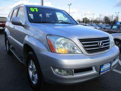 2007 Lexus GX 470 for sale at Choice Auto & Truck in Sacramento CA