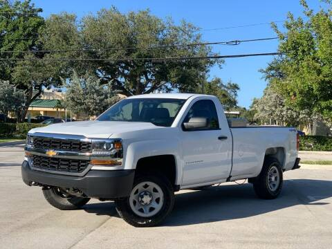 2017 Chevrolet Silverado 1500 for sale at Citywide Auto Group LLC in Pompano Beach FL