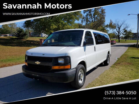 2011 Chevrolet Express Passenger for sale at Savannah Motors in Elsberry MO
