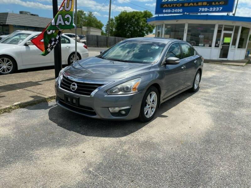 2015 Nissan Altima for sale at Dependable Auto Sales in Montgomery AL