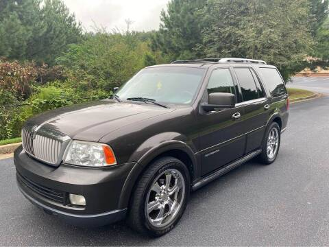 2006 Lincoln Navigator for sale at Two Brothers Auto Sales in Loganville GA