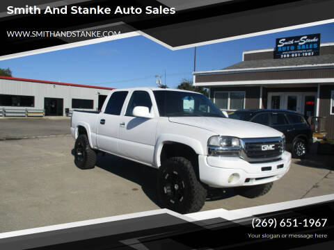 2004 GMC Sierra 1500 for sale at Smith and Stanke Auto Sales in Sturgis MI