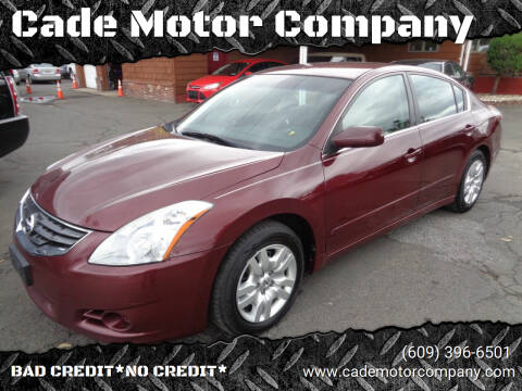 2010 Nissan Altima for sale at Cade Motor Company in Lawrenceville NJ