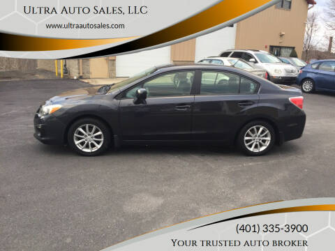 2012 Subaru Impreza for sale at Ultra Auto Sales, LLC in Cumberland RI