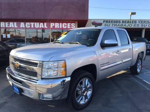 2013 Chevrolet Silverado 1500 for sale at Sanmiguel Motors in South Gate CA