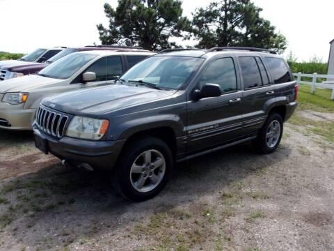 2002 Jeep Grand Cherokee for sale at CHUCK ROGERS AUTO LLC in Tekamah NE