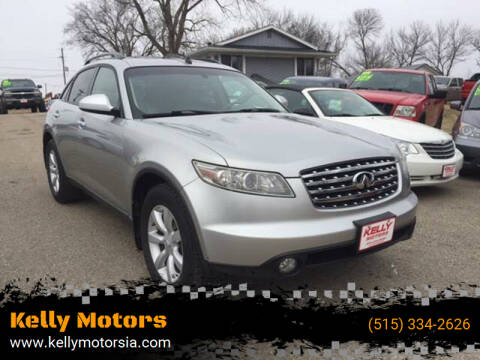 2005 Infiniti FX35 for sale at Kelly Motors in Johnston IA