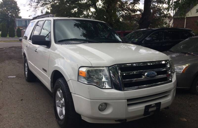 2008 Ford Expedition for sale at Charles and Son Auto Sales in Totowa NJ