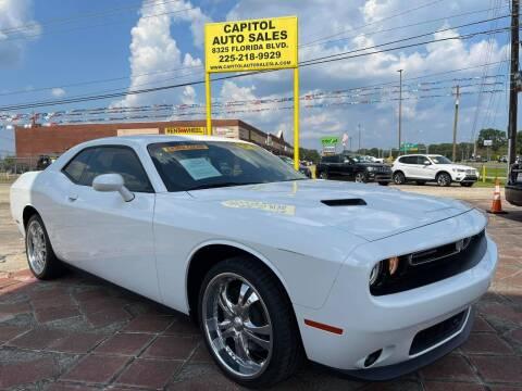 2018 Dodge Challenger for sale at CAPITOL AUTO SALES LLC in Baton Rouge LA