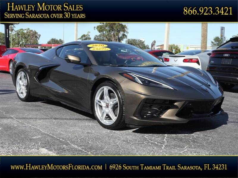 2020 Chevrolet Corvette for sale at Hawley Motor Sales in Sarasota FL