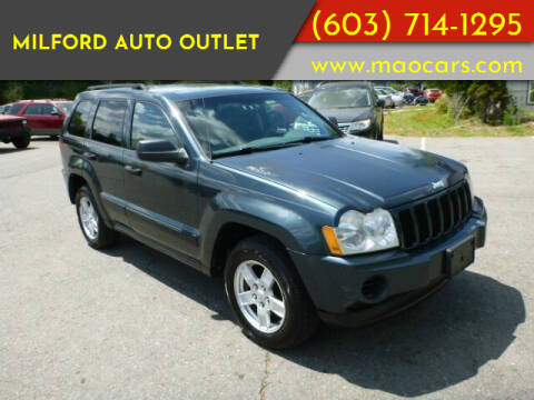 2005 Jeep Grand Cherokee for sale at Milford Auto Outlet in Milford NH