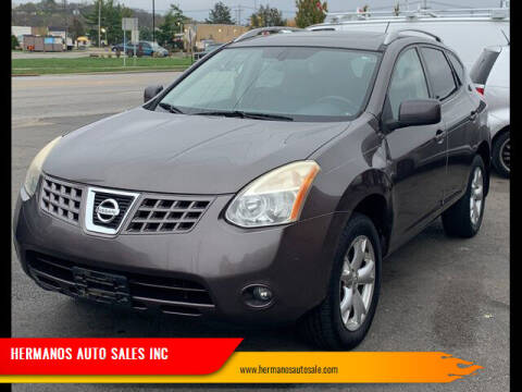 2008 Nissan Rogue for sale at HERMANOS AUTO SALES INC in Hamilton OH