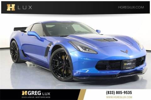 2016 Chevrolet Corvette for sale at HGREG LUX EXCLUSIVE MOTORCARS in Pompano Beach FL