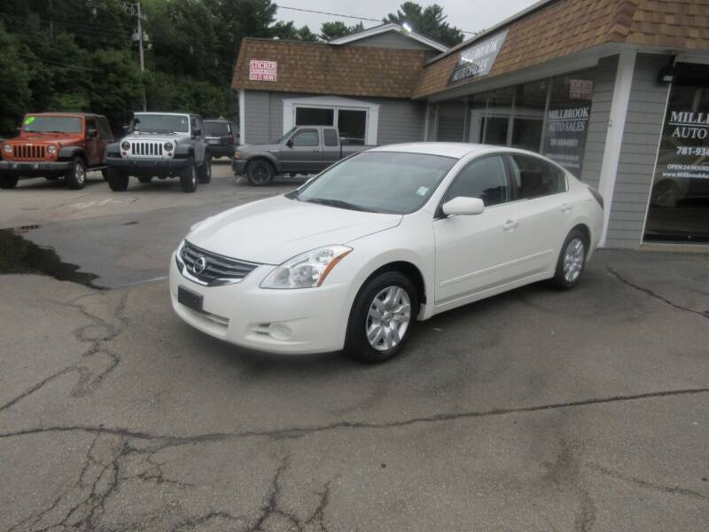 2011 Nissan Altima for sale at Millbrook Auto Sales in Duxbury MA