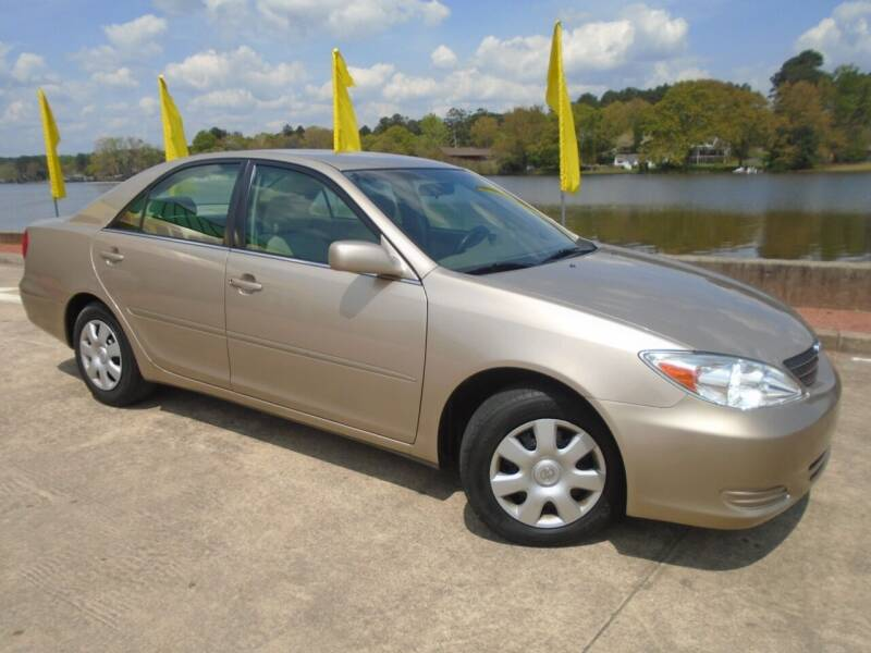2002 Toyota Camry for sale at Lake Carroll Auto Sales in Carrollton GA
