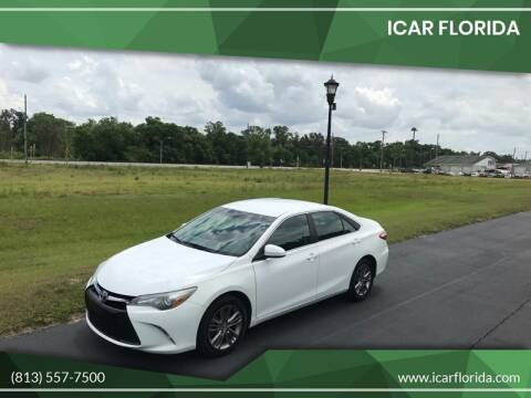 2015 Toyota Camry for sale at ICar Florida in Lutz FL
