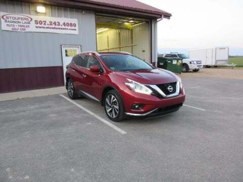 2018 Nissan Murano for sale at Stoufers Auto Sales, Inc in Madison Lake MN