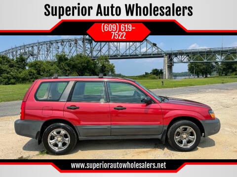 2003 Subaru Forester for sale at Superior Auto Wholesalers in Burlington NJ