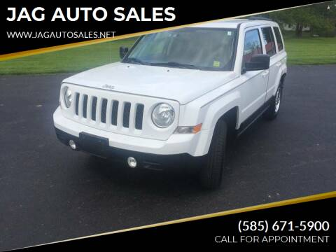2015 Jeep Patriot for sale at JAG AUTO SALES in Webster NY