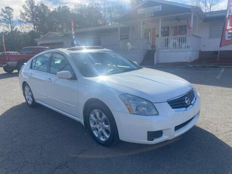 2007 Nissan Maxima for sale at CVC AUTO SALES in Durham NC