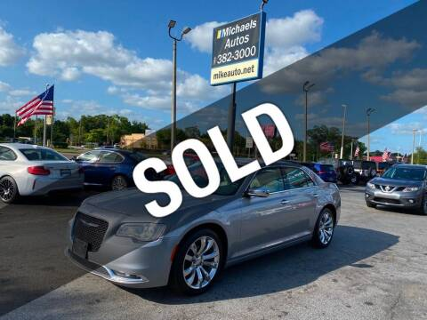 2018 Chrysler 300 for sale at Michaels Autos in Orlando FL