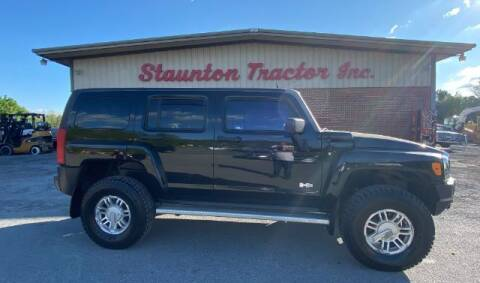 2006 HUMMER H3 for sale at STAUNTON TRACTOR INC in Staunton VA