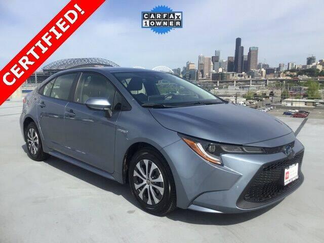 2020 Toyota Corolla Hybrid for sale in Seattle, WA