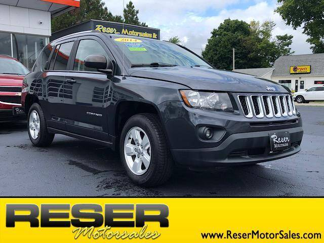 2014 Jeep Compass for sale at Reser Motorsales in Urbana OH