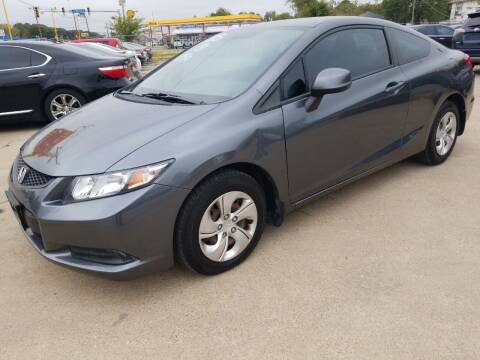 2013 Honda Civic for sale at Nile Auto in Fort Worth TX