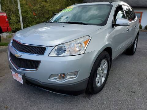 2012 Chevrolet Traverse for sale at Kerwin's Volunteer Motors in Bristol TN