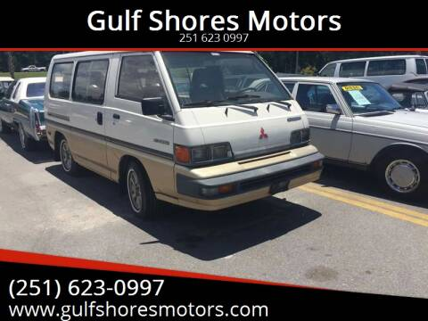 1988 Mitsubishi Vanwagon for sale at Gulf Shores Motors in Gulf Shores AL