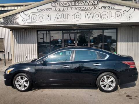 2015 Nissan Altima for sale at Don Auto World in Houston TX
